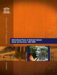International flows of selected cultural goods ... - unesdoc - Unesco