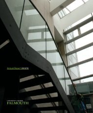 Annual Report 2009/10 - University College Falmouth
