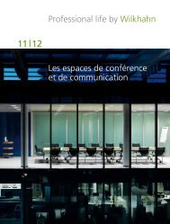 Télécharger le catalogue Conférence - Wilkhahn
