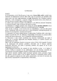 Didattica ed epistemologia (appunti delle lezioni) - Dipartimento di ...