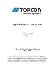 Topcon Hiper-AG GPS Manual - Topcon Precision Agriculture ...