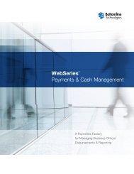 WebSeries Brochure - Bottomline Technologies