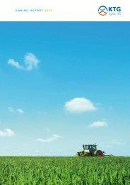 AnnuAl report 2007 - KTG Agrar AG