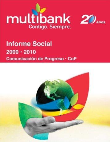 Responsabilidad Social Empresarial - Multibank
