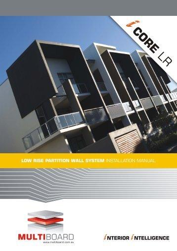 Download Multiboard iCORE LR installation manual