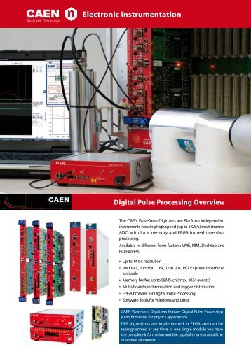 Digital Pulse Processing Overview - CAEN