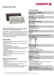 MultiBoard G81-7000 - Cherry
