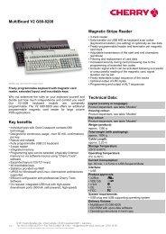 MultiBoard V2 G80-8200 - Cherry