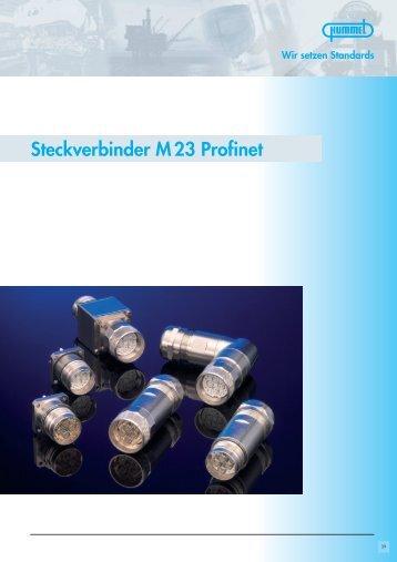 Steckverbinder M 23 Profinet / Zubehör