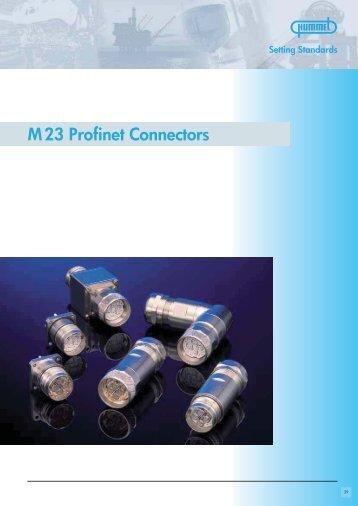 M 23 Profinet Connectors / Accessories
