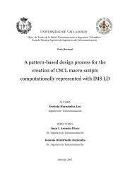 A pattern-based design process for the creation - Departament de ...
