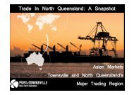 Trade In North Queensland: A Snapshot