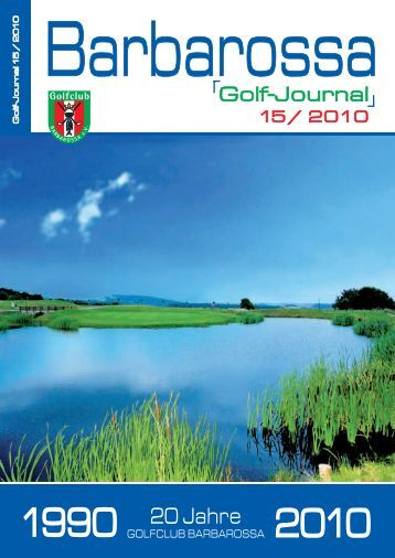 Golf Journal (6,1MB) - Golfclub Barbarossa