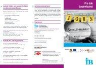 Pro Job Jugendscout - Internationaler Bund