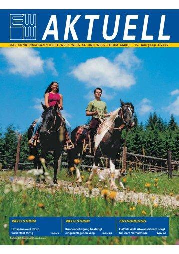 Ausgabe 3/2007 (PDF - 1 2 MB) - im E-Werk Wels