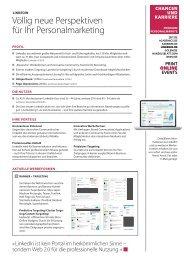 LinkedIn Factsheet 2012 (PDF) - CHANCEN UND KARRIERE ...