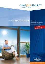 SGG CLIMATOP® MAX Maximale - glassolutions