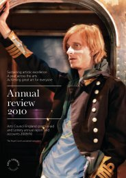Annual review 2010 - Arts Council England