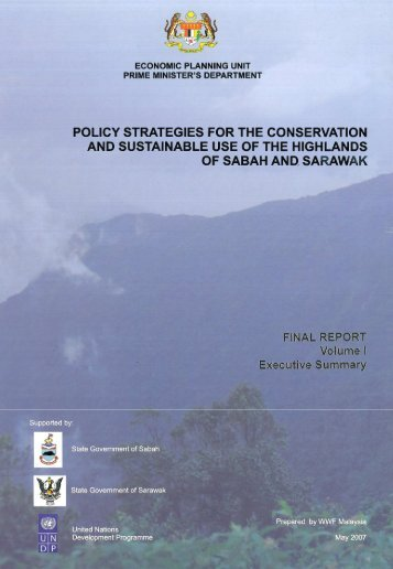 policy strategies for. the conservation and - WWF Malaysia