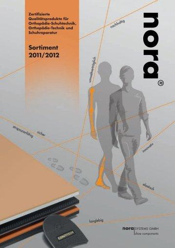 Sortimentsbroschüre zum Download (PDF, 4,6 MB) - nora-schuh