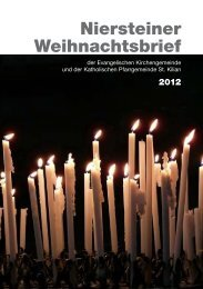 Niersteiner Weihnachtsbrief - Evangelische Kirchengemeinde ...