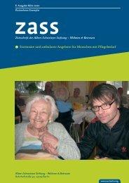 PDF, 1,1 - Albert Schweitzer Stiftung – Wohnen & Betreuen