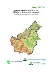 Biophysical Land Suitability for Oil Palm in Kalimantan - ISRIC World ...