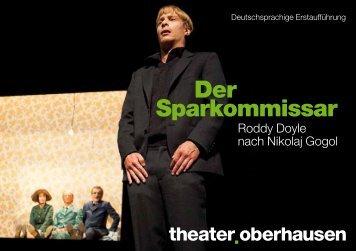 Der Sparkommissar - beim Theater Oberhausen