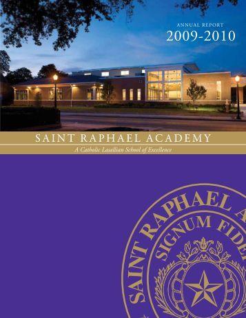 2009-2010 Annual Report - Saint Raphael Academy