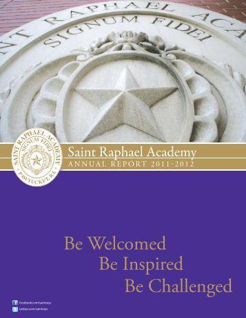 Saint Raphael Academy 2011-2012 Annual Report