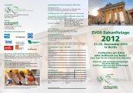 ZVOS Zukunftstage - ZVOS - Zentralverband Orthopädie-Schuhtechnik