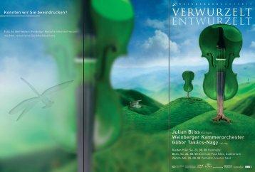 Programmheft | pdf - Weinberger Konzerte