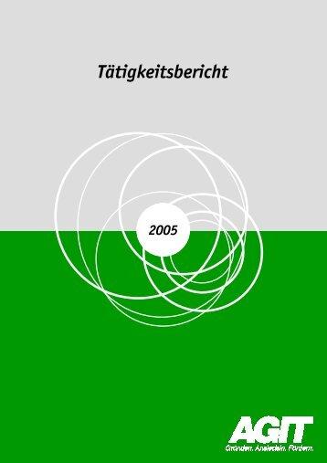 Tätigkeitsbericht 2005 - technologiezentrum-aachen.de