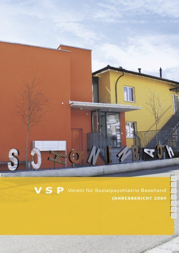 Jahresbericht 2009 - VSP BL
