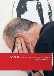 Jahresbericht 2011 - VSP BL
