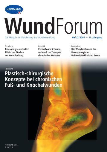 Plastisch-chirurgische Konzepte bei chronischen Fuß- und ...