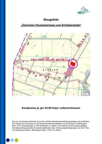 Baugebiet - Stadt Haren