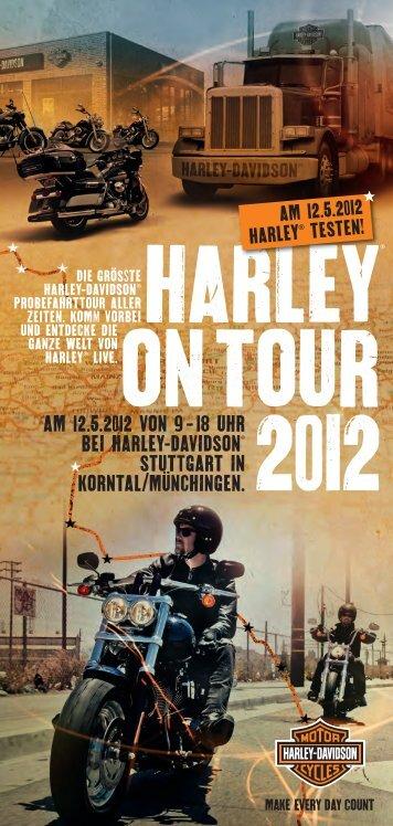 HARLEY ON TOUR 2012 - Harley Davidson Stuttgart