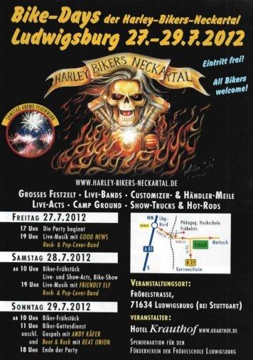 ludwigsburg 251-29. 7. 20/2 - Harley Davidson Stuttgart