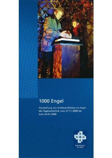 """Flyer """"1000 Engel"""""""