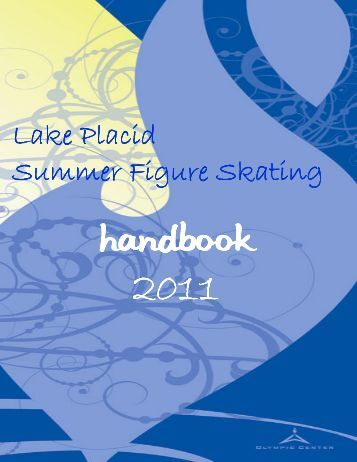 Handbook - full page - Lake Placid Skating