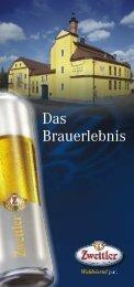 Infofolder (PDF ca. 3,3 MB) - Zwettler Bier