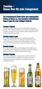 Infofolder (PDF ca. 3,3 MB) - Zwettler Bier - Page 6