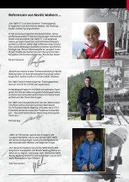 Referenzen von Nordic Walkern.... - JR Sport