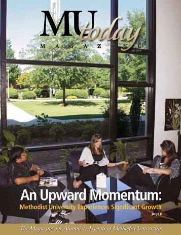 An Upward Momentum: - Methodist University