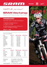 Sram Workshop 2011 - auf Hartje