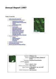 Annual Report 1997 - BNP Paribas Bank