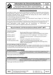 Ausschreibungen für Planer und Architekten - Holzbau Deutschland