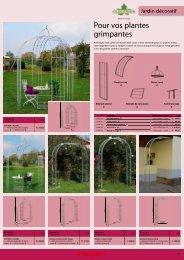 Catalogue Maisons de jardin et pergolas de Neogard