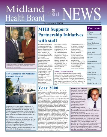MHB Supports Partnership Initiatives with staff - Irish Health Repository